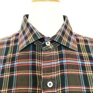Polo Ralph Lauren flannel  plaid shirt L